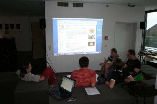 Wikipedianer Treffen in Dornbirn