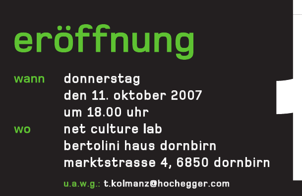 Er&#246;ffnung Dornbirn